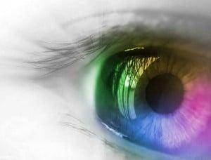 Efek Pelangi Pada Mata