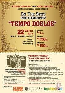 On The Spot Photography - Tempo Doeloe