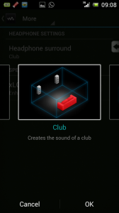 Surround Sound Chooser