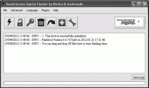flashtool 300x177 Cara Mudah Rooting Sony Ericsson Xperia Arc/Arc S  ICS 4.0.4   Lock Bootloader